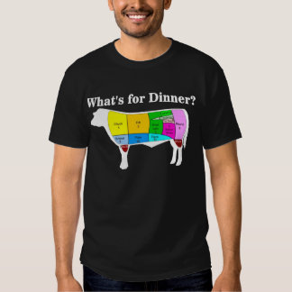 Beef, What's for Dinner? Camisas