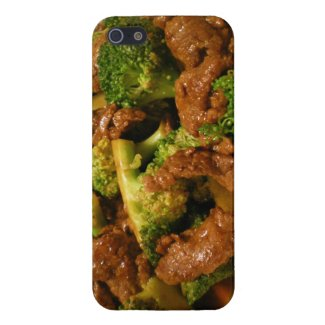 Beef With Broccoli iPhone 5 Case
