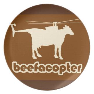 Beefacopter Plato De Comida