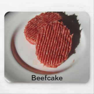 Beefcake Beef Burgers Mouse Pad
