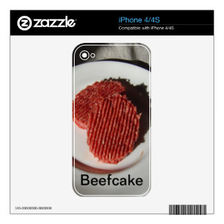 Beefcake Beef Burgers Decal For The iPhone 4S