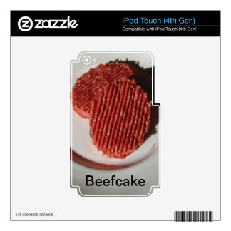 Beefcake Beef Burgers iPod Touch 4G Skins