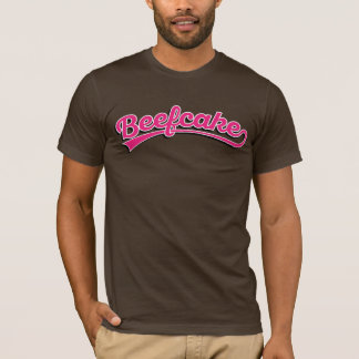 Beefcake in pink with shadow T-Shirt