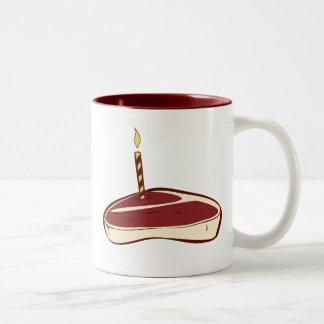 Beefcake Two-Tone Coffee Mug