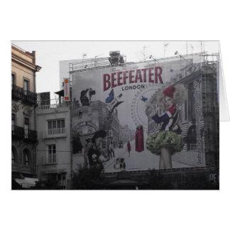 Beefeater Gin Billboard in Spain Card