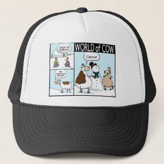 Beeficken, Missing Carrot and Erased Grass Trucker Hat