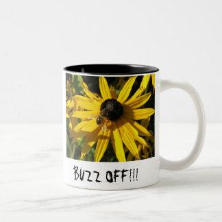beeflowernamelarge, beeflowernamelarge, BUZZ OF... Coffee Mug