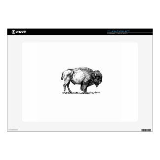beefy buffalo bull decal for laptop