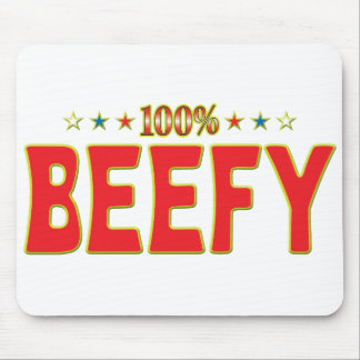 Beefy Star Tag Mouse Pad