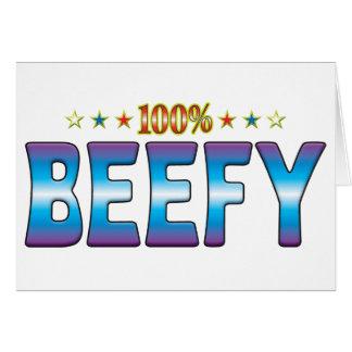 Beefy Star Tag v2 Card