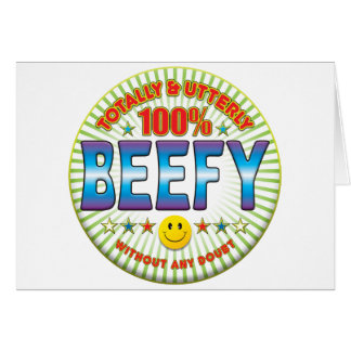 Beefy Totally Greeting Cards