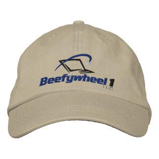 Beefywheel1 Adjustable Hat Embroidered Baseball Caps