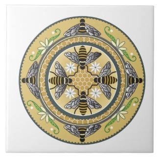 Beehive ceramic tile