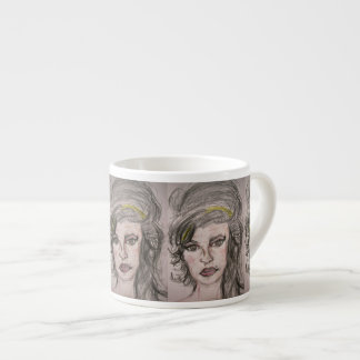 Beehive Girl Espresso Cup
