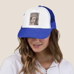 Beehive Girl Trucker Hat