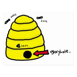 Beehive Gloryhole Postcard