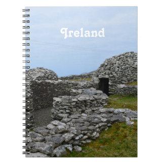 Beehive Hut Village Spiral Note Book