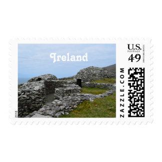 Beehive Hut Village Postage Stamps