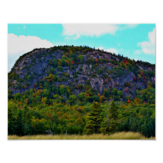 Beehive Mountain Poster