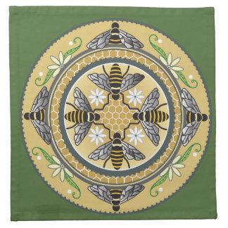 Beehive napkin