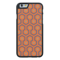 Beehive Pattern Carved iPhone 6 Slim Wood Case