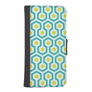 Beehive Pattern iPhone 5/5C Wallet Case