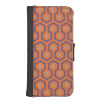 Beehive Pattern iPhone 5/5C Wallet Case