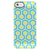 Beehive Pattern Permafrost iPhone SE/5/5s Case