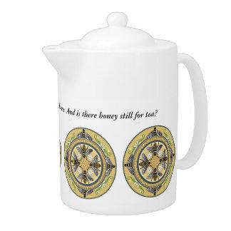 Beehive tea pot