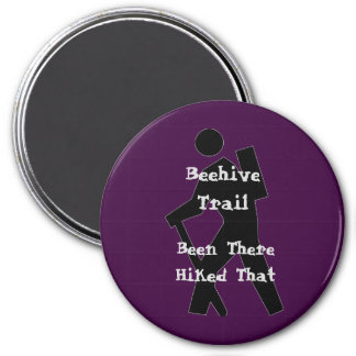 Beehive Trail 3 Inch Round Magnet