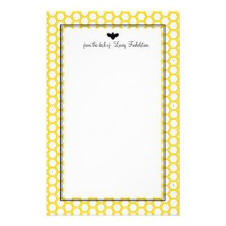 Beekeeeper's Paper Custom Stationery