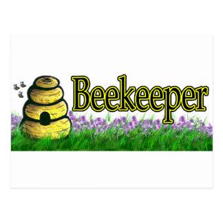 beekeeper 1 postcard