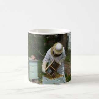 Beekeeper Adds Honeybees Coffee Mug