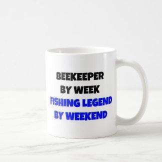 Beekeeper by Week Fishing Legend By Weekend Coffee Mugs