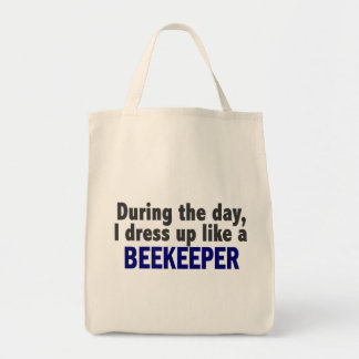 Beekeeper During The Day Canvas Bag