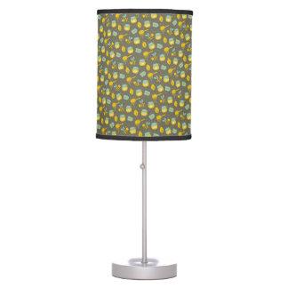 Beekeeper Honey Dipper Pattern Table Lamp