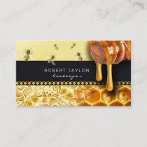 Beekeeper Honey Seller Bee Farm Farmer Card