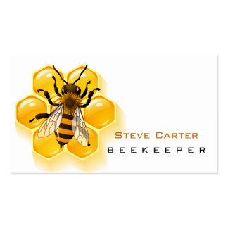 Beekeeper , Honey Seller Business Card Template