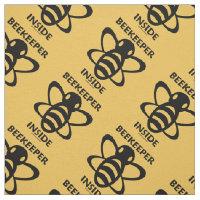Beekeeper Inside Bee Apiarist Attitude Fabric