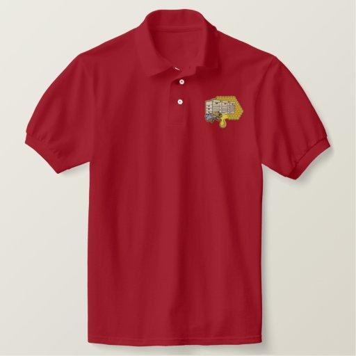 Beekeeper Logo Embroidered Polo Shirt