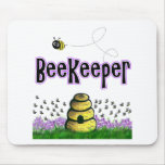 beekeeper mouse pad