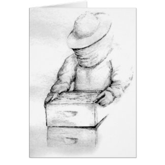 Beekeeper Note Card