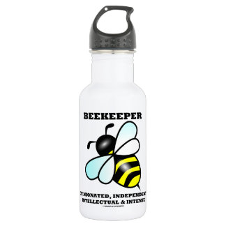 Beekeeper Opinionated Independent Intellectual 18oz Water Bottle