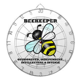 Beekeeper Opinionated Independent Intellectual Dart Board