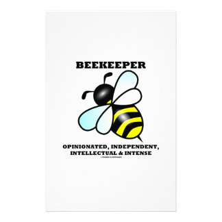 Beekeeper Opinionated Independent Intellectual Stationery