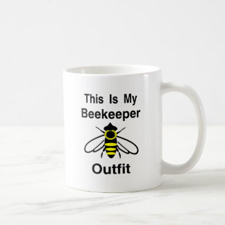 Beekeeper Outfit Coffee Mug
