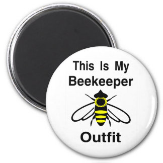 Beekeeper Outfit Magnet