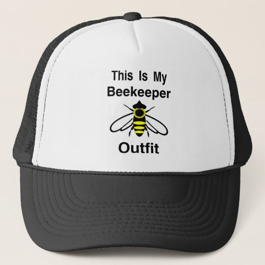 Beekeeper Outfit Trucker Hat