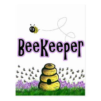 beekeeper postcard