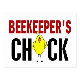 BEEKEEPER'S CHICK POSTCARD